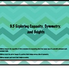 Everyday Math Grade 1 9.5: Exploring Capacity, Symmetry an