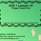 Everyday Math Kindergarten 1.14 Finger Count Fun