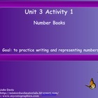 Everyday Math Kindergarten 3.1 Number Books SmartBoard Activity