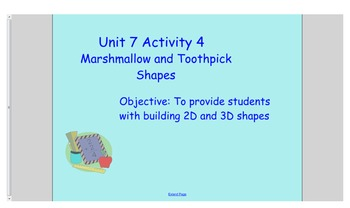Everyday Math Kindergarten Unit 7 Bundle