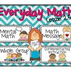 Everyday Math Lesson 2.5 Addition Strategies That Use Doub