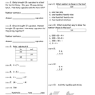 Everyday Math Unit 4 Mixed Common Core Skills Test