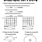 Everyday Math Unit 9 Measurement Review Test