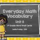 Everyday Math Word Wall Words  Unit 8 Vocabulary