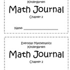 Everyday Mathematics Kindergarten Math Journal Chapter 2