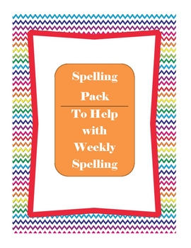 Everyday Spelling Pack