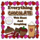 Everything Chocolate - Web Hunt and Graphing Activities