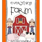 Everything Farm Mega Pack - Math and Literacy Skills for K, 1, 2