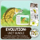 Evolution Bundled Unit: PowerPoint and All Handouts