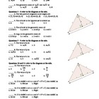 Exam: Right Triangles and Trigonometry