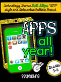 Exit Slips APPs for ANY SUBJECT- Technology Themed