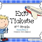 Exit Tickets 3rd Grade-Geometry