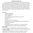Exodus Historical Topic Essay