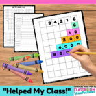 Expanded Form Activity {Color Coded Stair Steps}