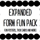 Expanded Form Fun Pack: Memory Game and Posters