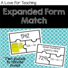 Expanded Form Matching