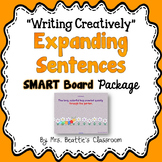 """Expanding Sentences - """"Writing Creatively"""" Package for the"""