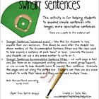 Expanding Simple Sentences - Swingin' Sentences