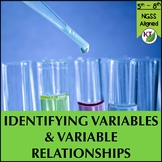 Experiment variables:  Direct or Inverse Relationship