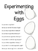Experimenting with Eggs: A Set of 9 Science Labs