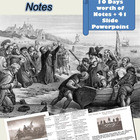 Exploration and Colonization Notes and Activities