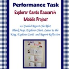 Explorer Cards Mobile Project Task