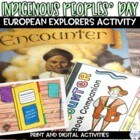 """Explorers Using the Picture Book """"Encounter"""" Shows Columbus'"""
