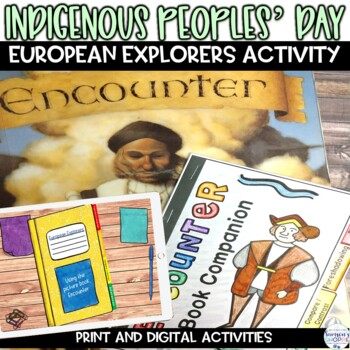 "Explorers Using the Picture Book ""Encounter"" Shows Columbus'"