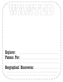 Explorers - Wanted Poster