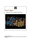 Exploring ANCIENT EGYPT:  Resources for Middle School