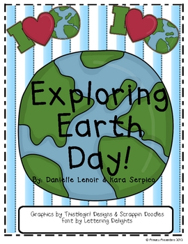 Exploring Earth Day Literacy Centers