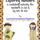 Exploring Numbers!  Recognizing number words 0-20 &amp; by 10&#039;