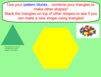 Exploring Triangles K-1 SmartBoard Lesson