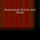 Exponential Growth and Decay presention