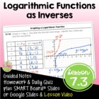 Exponential & Logarithmic Functions ALG 2 Lesson 3: Log Fu