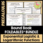 Exponential Logistic and Logarithmic Functions Unit: FOLDA