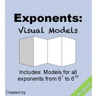 Exponents: Visual Models: Bases of 6
