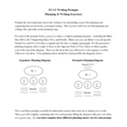Expository & Persuasive Writing Prompts and Planning Organizer
