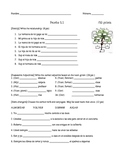 Expresate Chapter 5 QUIZZES (vocab and grammar) family/hou