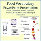 Expresate Chapter 6 Food Vocab Presentation