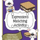 Expressions Sorting Activity - Perfect for math workshop!!