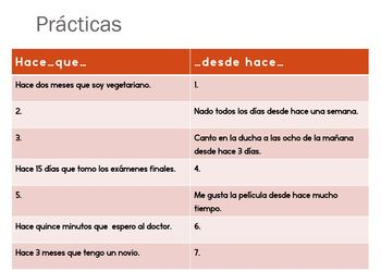 "Expressions of time with ""hace que"", Spanish"