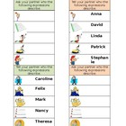 Expressions with avoir / avere / tener Speaking activity