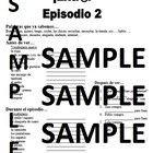 Extra! Extr@! episodio 2 Worksheet Spanish