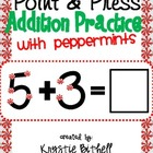 Extra Large: Single Digit Addition Practice Press and Poin
