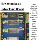 Extra Time Board-For Fast Finishers