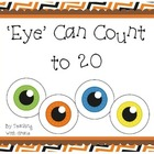 'Eye' Can Count to 20: Halloween Themed Math Activity