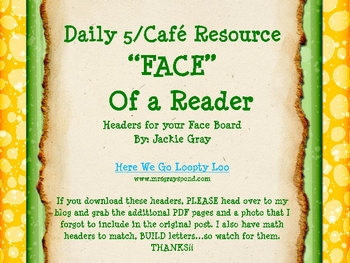 FACE Bulletin Board Headers