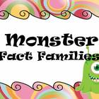 FACT FAMILIES - Monster Theme - Common Core
