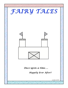 FAIRY TALES WORKSHEETS PACKET